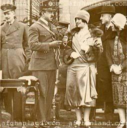 King Amanullah and Queen Soraya